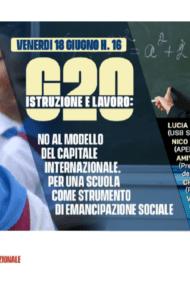 Convegno internazionale Usb – FSM – FISE: No al modello del capitale internazionale. Per una scuola come strumento di emancipazione sociale.